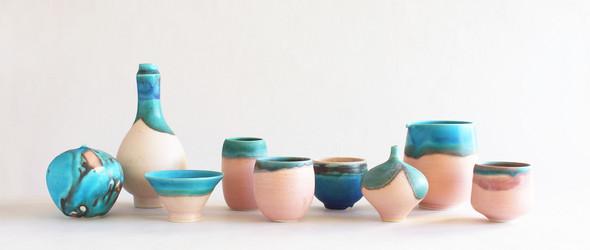 日本陶艺家竹村良訓创造的彩色陶瓷世界
