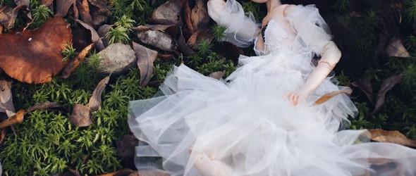 她将童话和故事的人物变成美丽优雅的BJD娃娃 | Lia Selina