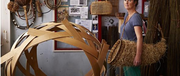 探索和发现植物美丽之处 -英国手工匠人 Annemarie O'Sullivan 的草编生活用具