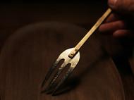 洋白铜 餐叉 水果叉