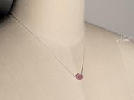 【Mint】3A级进口玛瑙925纯银锁骨链纤细项链