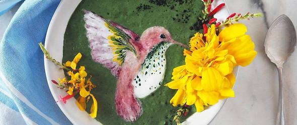 奶昔,不仅可以很美味,还可以很艺术:新西兰女生 Hazel Zakariya 创作的奶昔画