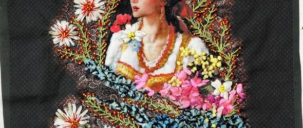 丰满而立体的刺绣画:法国艺术家 Léa Stansal 拼布刺绣作品集