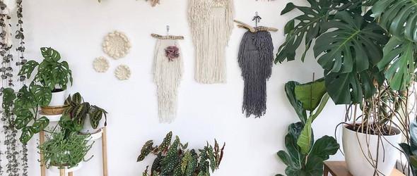 可爱的动物造型编织挂毯 | Elle Collins