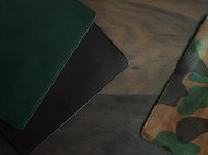 植鞣革手工笔记本 旅行者牛皮本子 buttero活页本 迷彩复古本子
