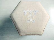 北欧风刺绣布盒
