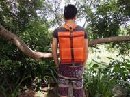 手工皮具进口植鞣革双肩包旅行包