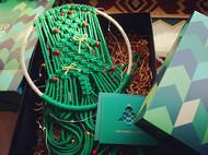 【圣诞缤纷系列】分享两款绿色圣诞树,美炸你的少女心