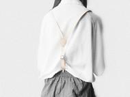 MISKART 原创手工头层皮 真皮背带 简约可调节 男女 复古英伦 女皮带