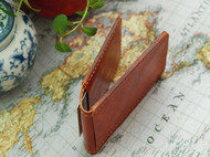 手工制作 真皮 两折式卡夹卡包驾照夹证件夹