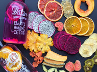心意无二热销爆款网红水果差新鲜纯手工零添加高颜值营养不流失水果茶片