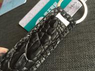 鳄鱼皮做的小玩意儿 指甲刀皮套和卡套