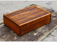 菠萝格木插盖盒