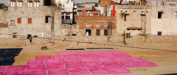 Vijendra Chhipa - 印度传统手工木刻印染