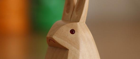 可爱的木工动物玩偶,来自己日本桜製作所木艺工作室