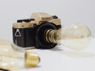 纯收工制作——复古胶片相机台灯