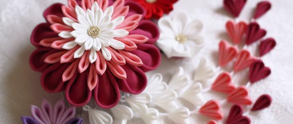 细工花簪 | 花绽美人云鬓边,流苏拂过芙蓉面