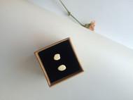 [LR ART]独立设计 纯天然波罗的海白蜜蜡耳钉