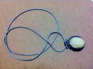 核桃壳羊皮项链(领结链)