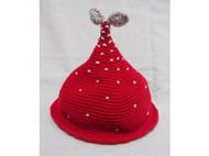 【我要发芽】原创手工毛线帽子 可爱 森女 日系