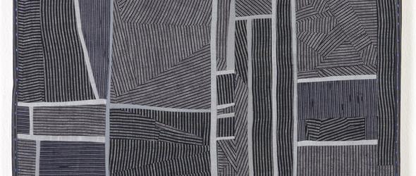 原野和阡陌:艺术家 Debra M Smith 靛蓝染色艺术作品
