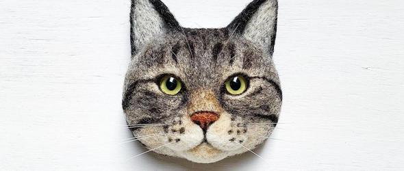 猫奴的自我修养 - 手工艺人麻子(mako)的羊毛毡猫猫玩偶