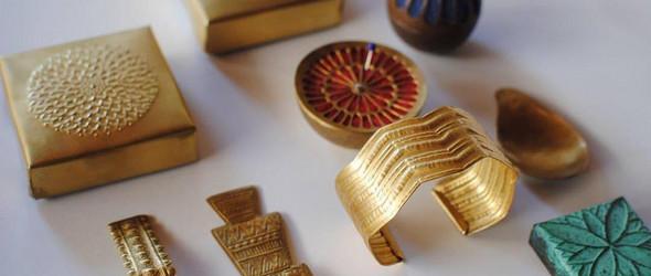手工打造的金属器物与配饰 | 大桃沙织与大桃洋三