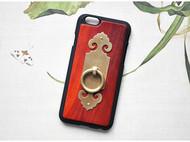 苹果6/6s/6plus/6splus红木手机壳个性原创创意实木福运双全