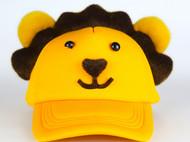 张可爱原创春夏甜美萌范鸭舌帽休闲帽亲子款小狮子王黄色 腔调