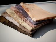 unna酝罗_南瓜与藤_天然植物染 纯棉方巾 草木染 手帕 围巾 宝贝口水巾 46*46