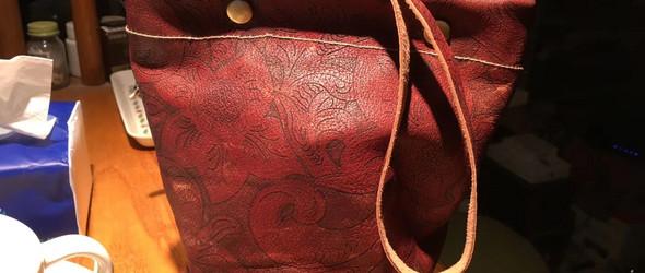 缝纫机版小皮包