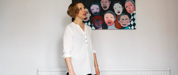 画家与母亲的一体二面 | 英国画家 Zena Blackwell 的生活与工作室