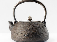 【冬去春来】手工铁壶 煮水茶道美器