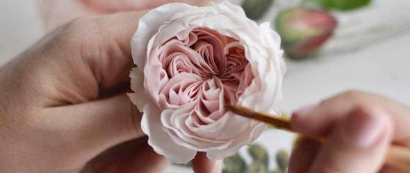 媲美真花的手工花卉 | 设计师 Julia Oleynik 的多彩手工花世界