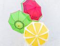 手绘切水果(Fruit Slice)太阳伞/雨伞DIY教程