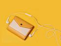 手工皮具教程 | 如何通过140张图片学会制作一个三折竖款短夹钱包