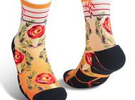 意品造物玩酷子弟【城市系列_米兰】Gelato男女印花运动袜