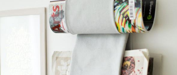 布艺DIY教程:杂志收纳袋