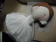 女王节婚纱娃娃