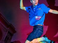 意品造物玩酷子弟风尚【城市系列_台北】Celebration男女印花运动袜