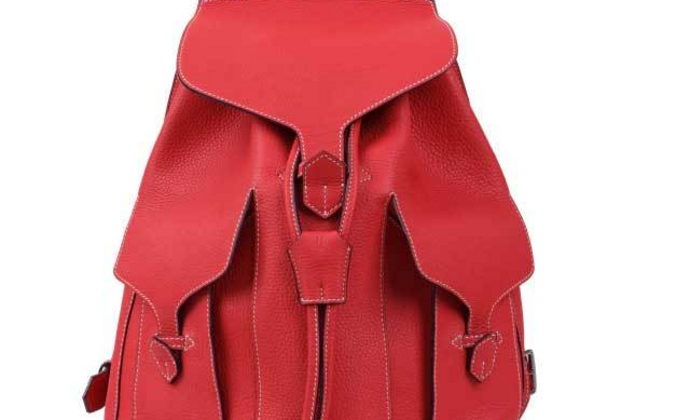 纯手工里外全皮超级豪华时尚背包