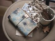 手工皮具 糊染Traveler's Notebook