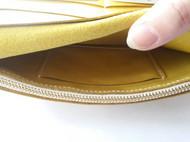 黄色长款钱包——春天就该享受这样的感觉