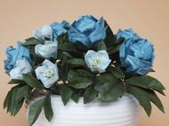 鱼娘娘手工折纸花艺 英格兰玫瑰