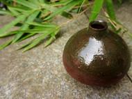 小地雷 半釉陶壶