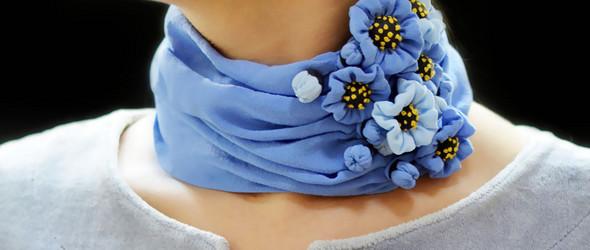 创作记 |「颈」上添花,别有风采 -- 可穿戴艺术创作