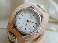 【时间的味道】意大利植鞣表带/手环