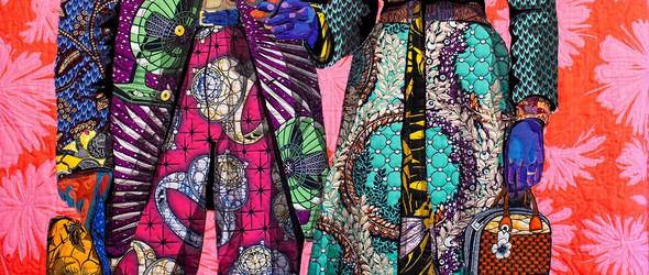 色彩斑斓的布艺黑人肖像  | 美国艺术家 Bisa Butler 的布艺拼贴画