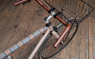 Leather Wrap Handlebars自行车车把皮革套&皮革自行车把手diy教程