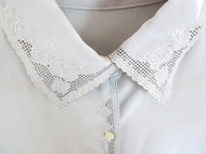清凉、透气复古长袖女款衬衣